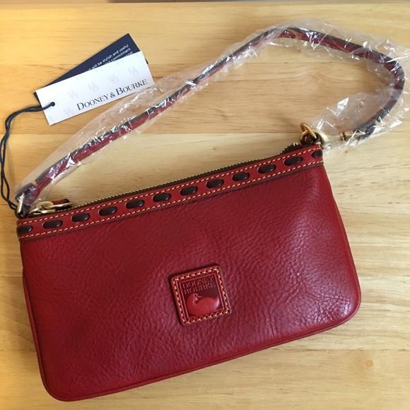 Dooney & Bourke Handbags - NWT Dooney & Bourke Florentine Wristlet, Large
